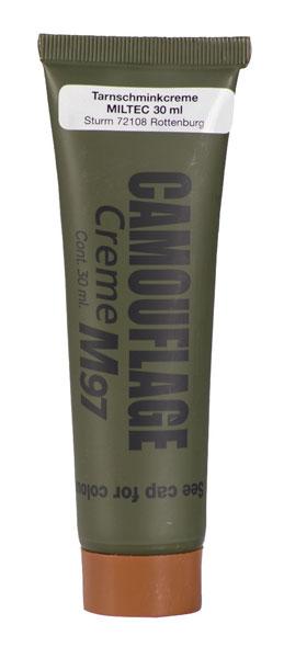 Mil-Tec® NATO Tarnschminkcreme - 30 g - Braun