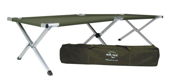 Mil-Tec® Feldbett US Typ Alu mit Tasche - 190 x 65 cm