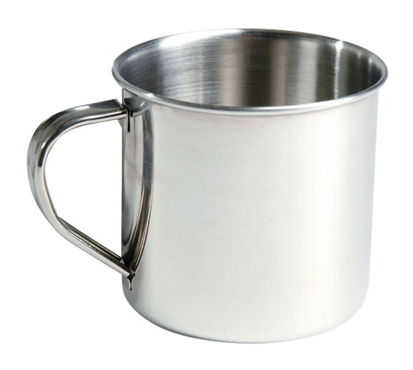 Trinkbecher Edelstahl - 300 ml