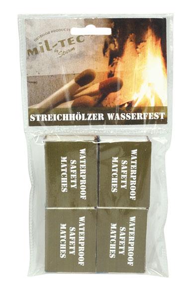 Mil-Tec® Streichhölzer wasserfest - 4er Pack