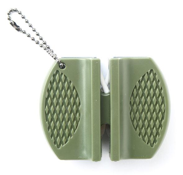 Messerschärfer Block oliv