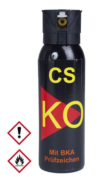 CS Verteidigungsspray BKA 9R - 100 ml