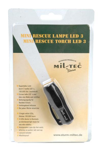 Mini Rescue Lampe