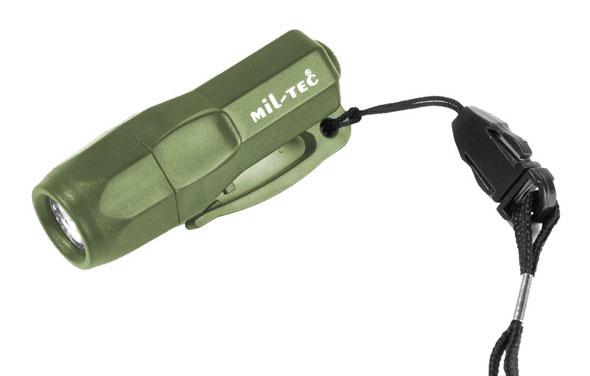 Mini Rescue Lampe - Oliv