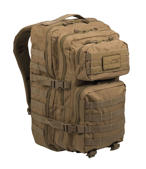 US Assault Pack Rucksack - groß - Coyote