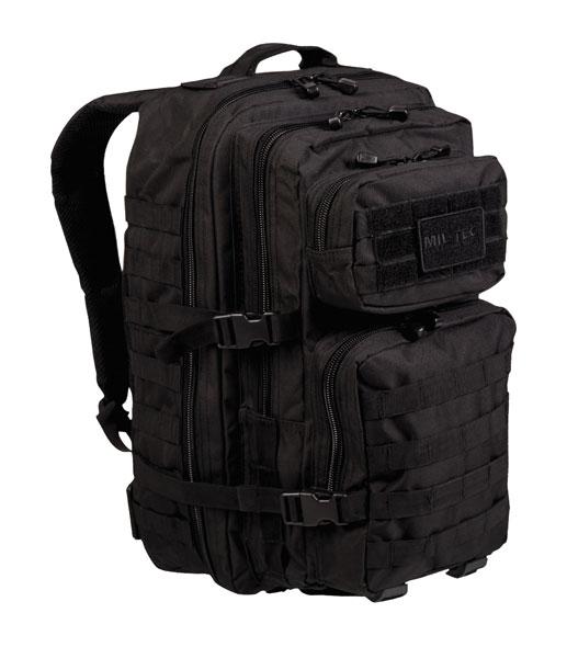 US Assault Pack Rucksack - groß - Schwarz