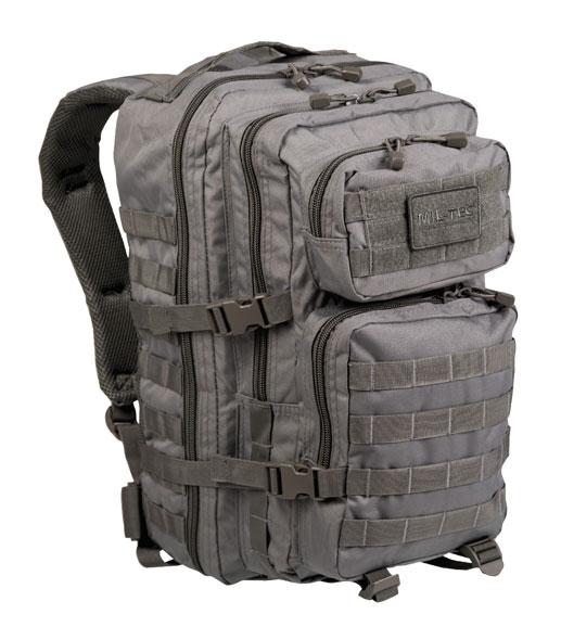 US Assault Pack Rucksack - groß - Grau