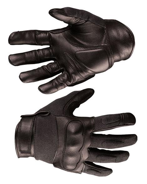 Taktische Handschuhe Leder / Aramid