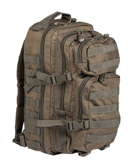 US Assault Pack Rucksack - klein - Oliv