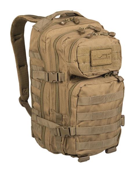 Mil-Tec® US Rucksack Assault Pack - klein - Coyote