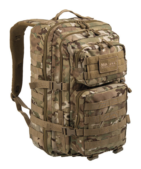 US Assault Pack Rucksack - groß - Multitarn