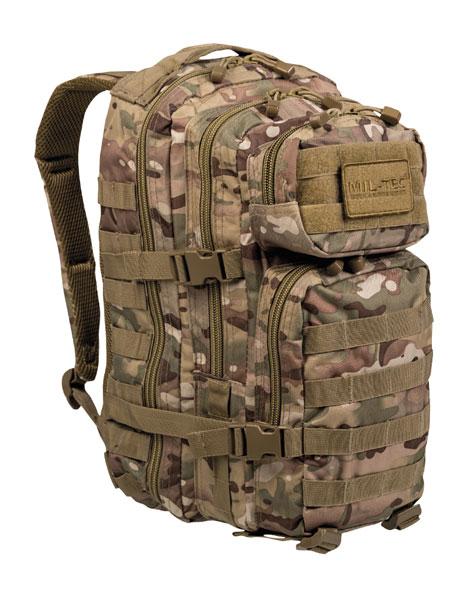 Mil-Tec® US Rucksack Assault Pack - klein - Multitarn