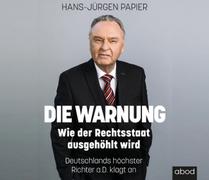 Die Warnung, Audio-CD_small
