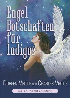 Engel-Botschaften für Indigos, Orakelkarten m. Begleitbuch