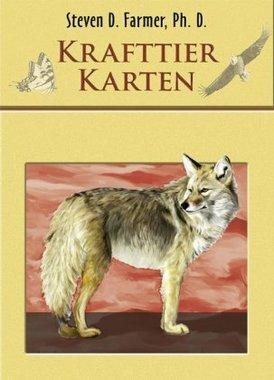 Krafttier Karten, Orakelkarten m. Anleitungsbuch
