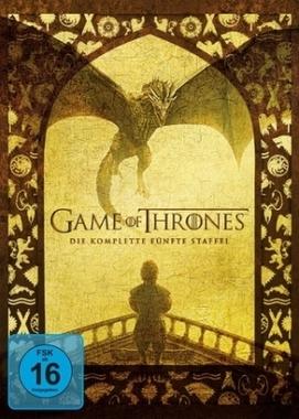 Game of Thrones. Staffel.5, 5 DVDs