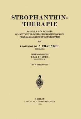 Strophanthintherapie