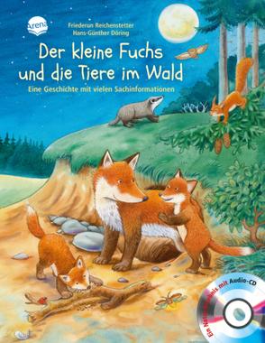 Der kleine Fuchs und die Tiere im Wald, m. Audio-CD