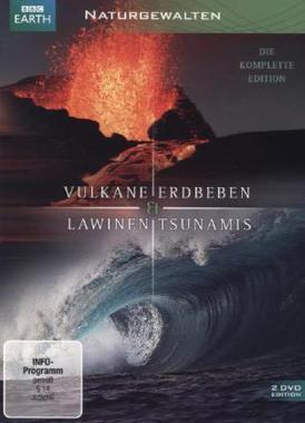 Naturgewalten - Vulkane, Erdbeben, Lawinen & Tsunamis, 2 DVDs