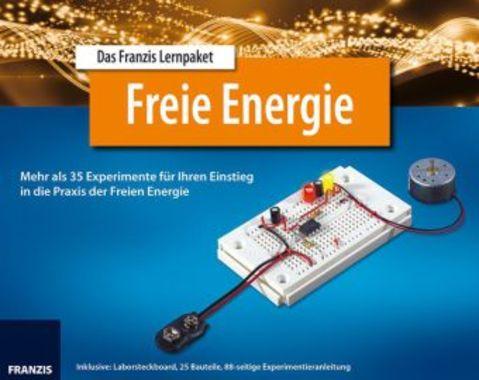 Lernpaket Freie Energie, 1 Laborsteckboard, 25 Bauteile u. Experimentieranleitung