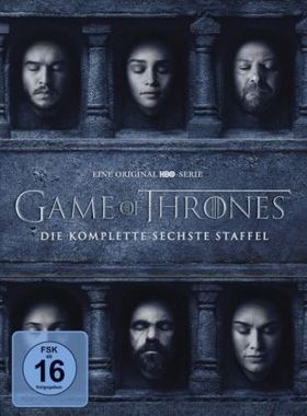 Game of Thrones. Staffel.6, 5 DVDs