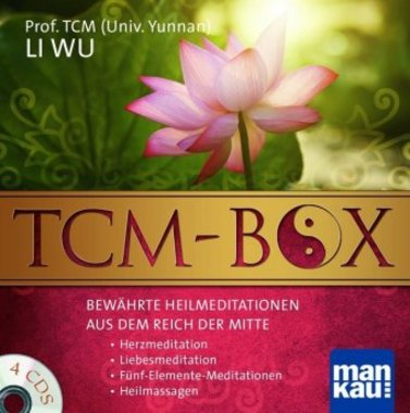 TCM-Box: Bewährte Heilmeditationen aus dem Reich der Mitte, 4 Audio-CDs