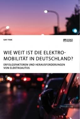 Wie weit ist die Elektromobilität in Deutschland? Erfolgsfaktoren und Herausforderungen von Elektroautos