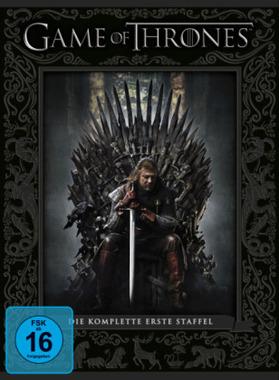Game of Thrones. Staffel.1, 5 DVDs