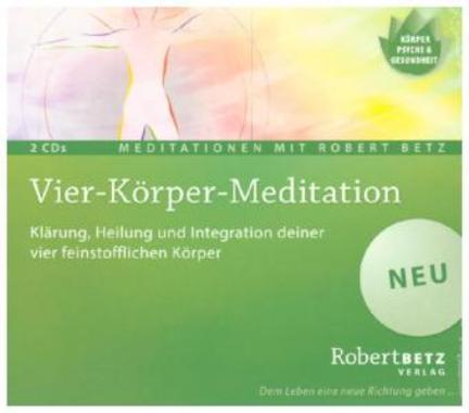 Vier-Körper-Meditation, 2 Audio-CDs