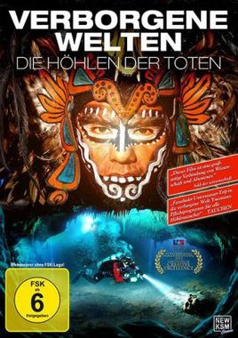 Verborgene Welten - Die Höhlen der Toten, 1 DVD