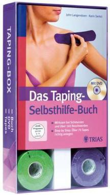 Das Taping Selbsthilfe-Buch, m. DVD u. Tape-Rollen