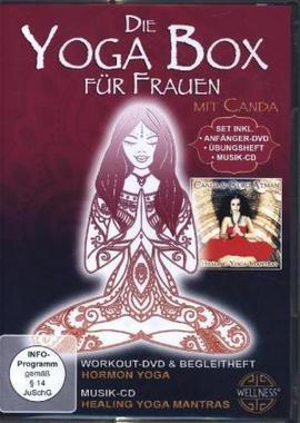 Die Yoga Box für Frauen, 1 DVD + 1 Audio-CD