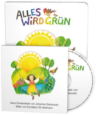 Alles wird grün, m. 1 Audio-CD