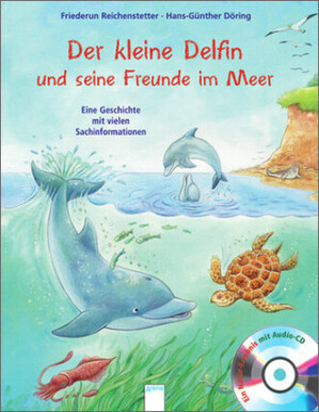 Der kleine Delfin und seine Freunde im Meer, m. Audio-CD