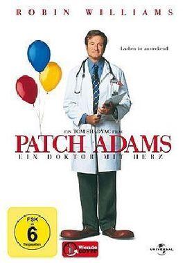 Patch Adams, DVD, deutsche u. englische Version