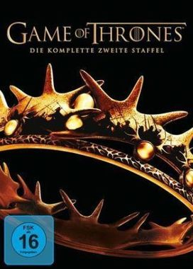 Game of Thrones. Staffel.2, 5 DVDs