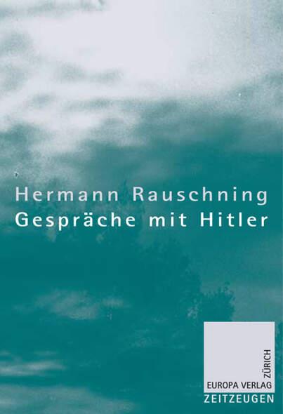 Gespräche mit Hitler