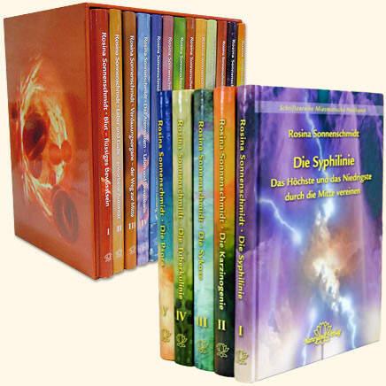 Komplettset der Schriftenreihen Organ-Konflikt-Heilung UND Miasmatische Heilkunst in 17 Bänden