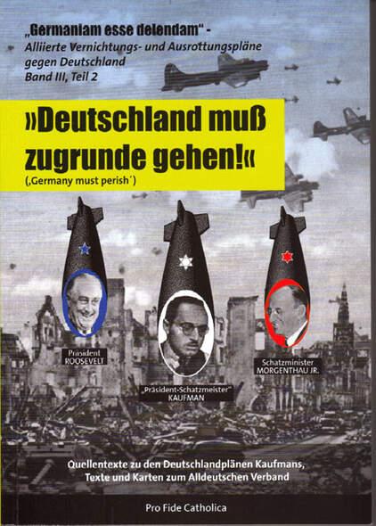 Alliierte Vernichtungs- und Ausrottungspläne gegen Deutschland Band 3 Teil 2