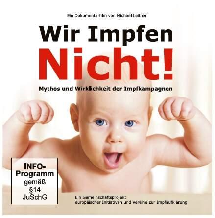 DVD Wir Impfen Nicht (3er Set DVD in Kartonhülle)
