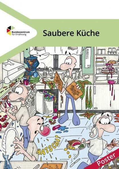 Saubere Kuche Poster Kopp Verlag